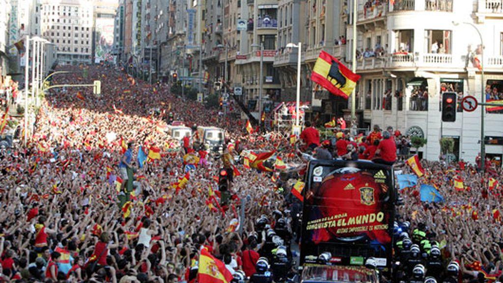 Más de un millón de personas en la calle