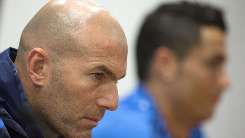 Entrenador del Real Madrid, Zinedine Zidane