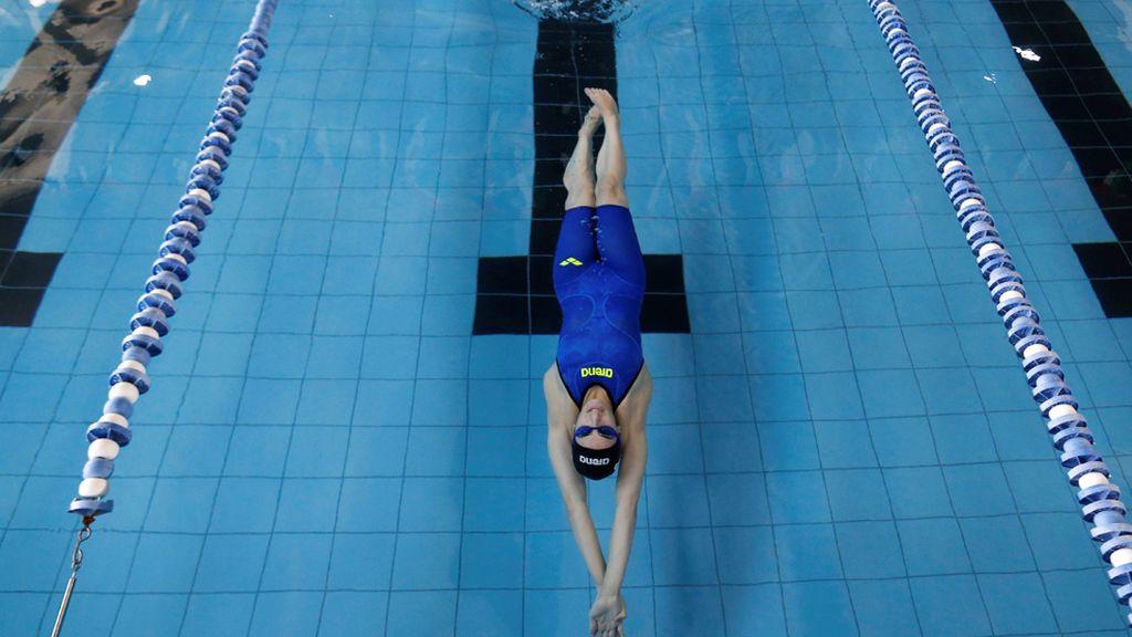 De Palestina a Rio...nadando a crol