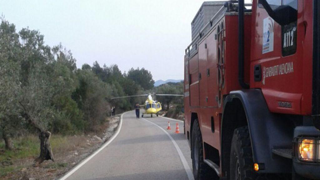 Seis ciclistas atropellados en Valencia