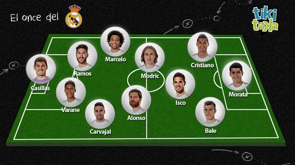 El 11 de la afición del Madrid para el Clásico