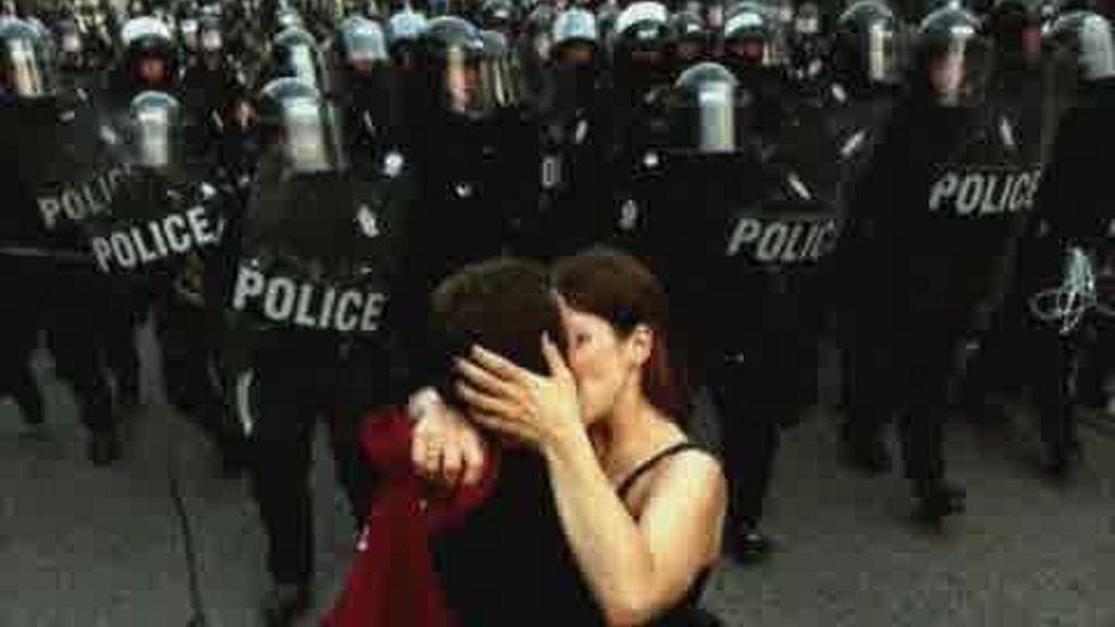 El amor está presente en los disturbios del G-20