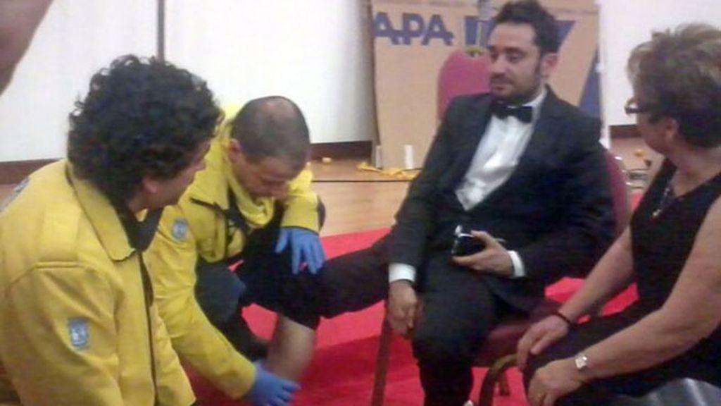 Bayona acaba los Goya en el hospital
