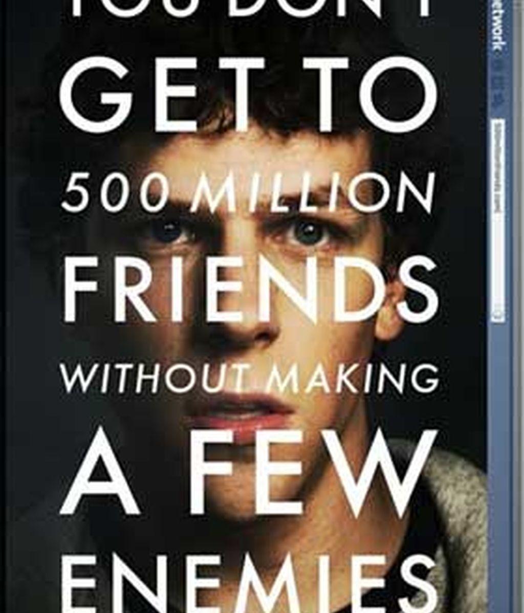 """La película sobre el origen de Facebook, """"The Social Network"""", se estrena en Estados Unidos."""