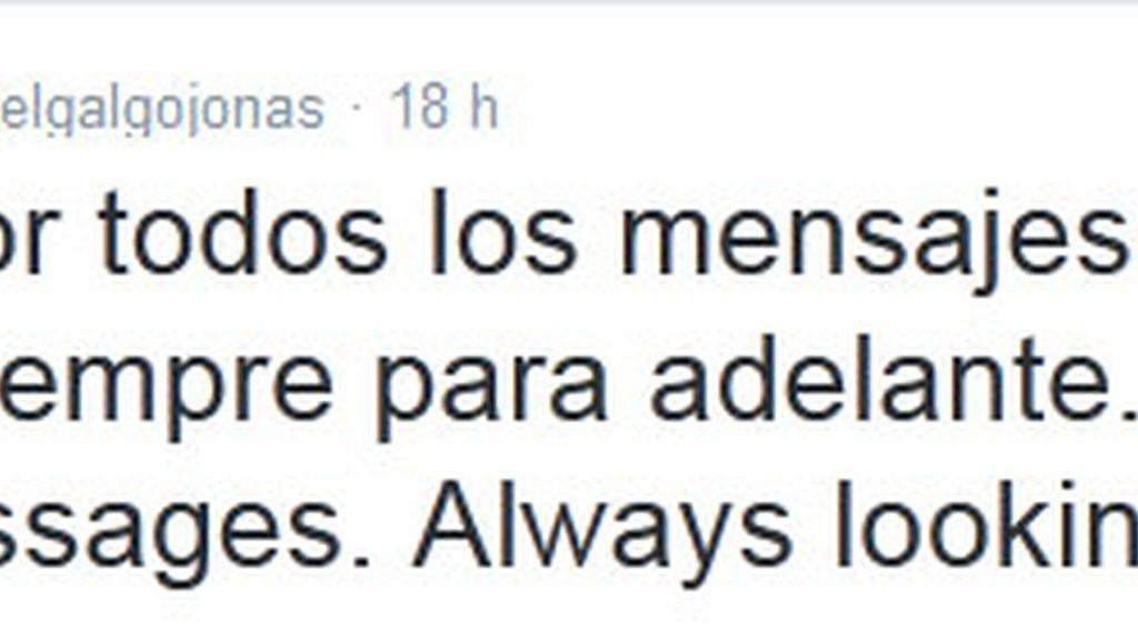 Jonas Gutierrez twitter