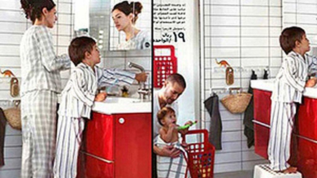 Ikea, catálogo Arabia Saudí