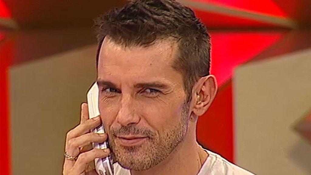 Jesús Vázquez, presentador de 'Allá tú'.