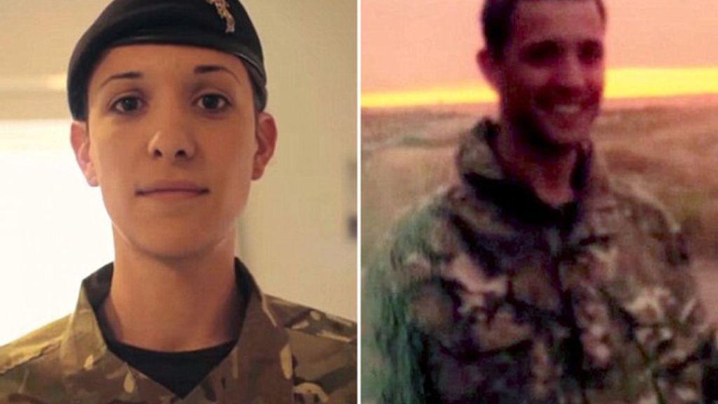 El primer oficial transexual del ejército británico