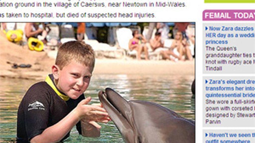 Casey Breese, de 12 años de edad. Foto: Daily Mail