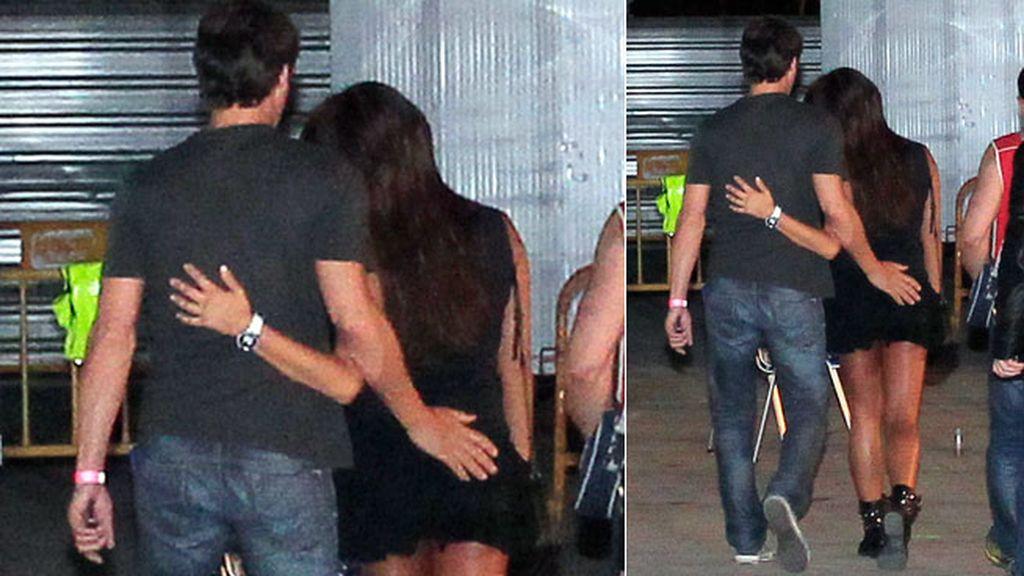 La pareja se desplazó hasta Torrejón de Ardoz para disfrutar del concierto