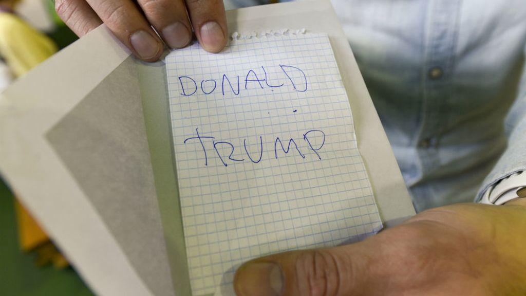 Trump 'obtiene' un voto en las elecciones generales españolas