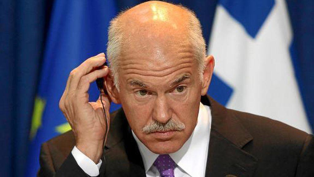 El primer ministro griego Yorgos Papandreu