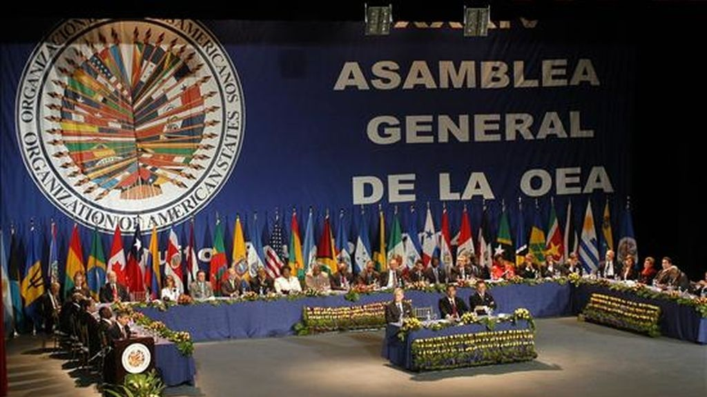 Los países miembros de la OEA hacen un llamamiento a Costa Rica y a Nicaragua para que ejecuten las recomendaciones adoptadas el pasado 12 de noviembre por el organismo continental. EFE/Archivo
