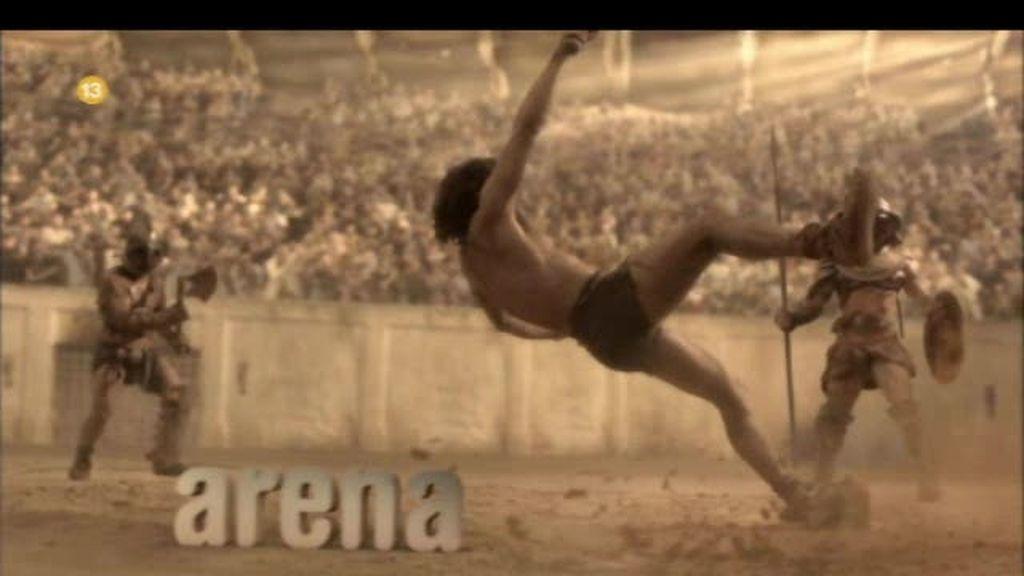 Spartacus. Arena...