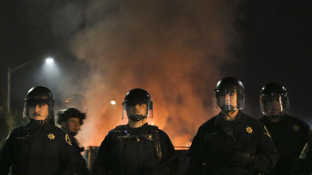 Policía en Ferguson