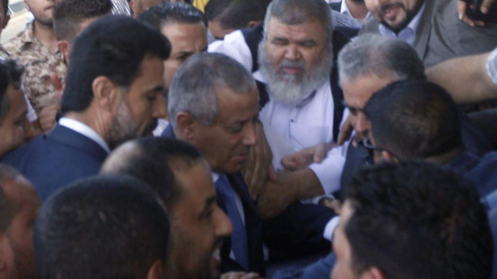 Ali Zeidan tras su liberación