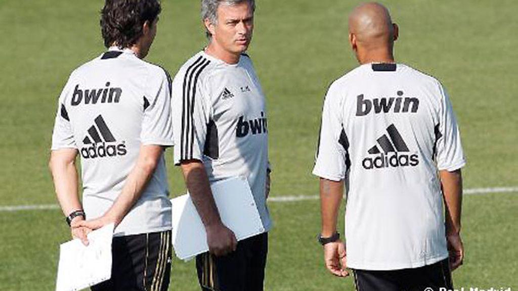 El primer entrenamiento de la temporada del Real Madrid
