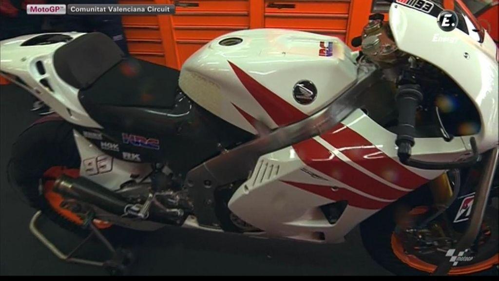 La nueva Honda MotoGP de Marc Márquez
