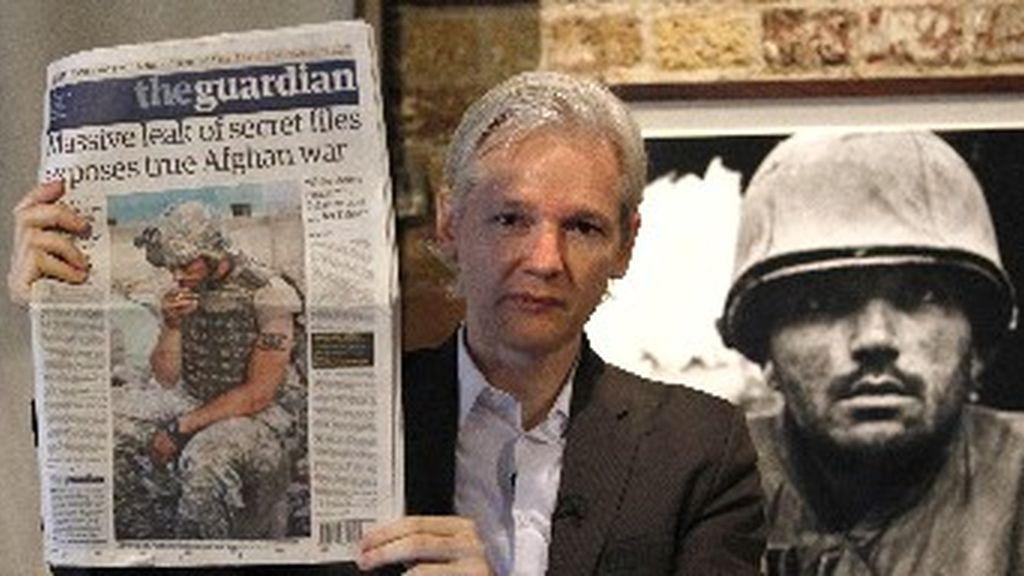 El fundador de 'Wikileads' habla de crímenes de guerra en Afganistán