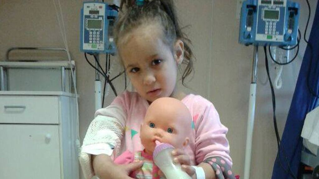 Jacqueline necesita un trasplante urgente de médula