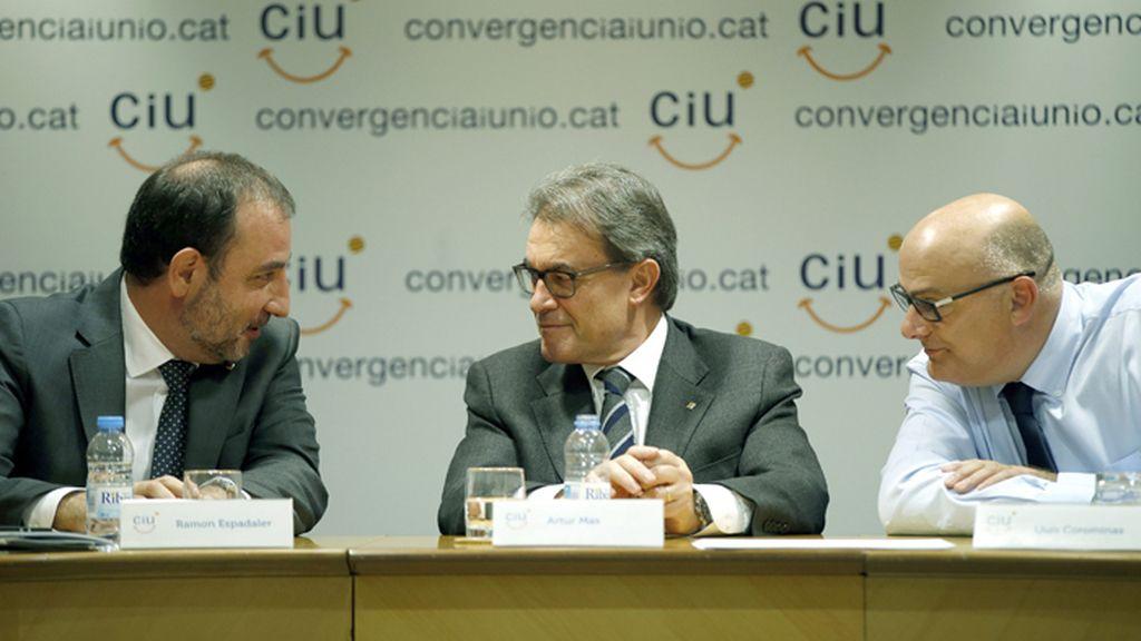 Reunión de la comisión ejecutiva de CiU
