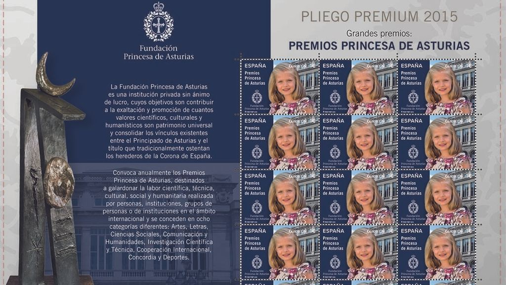 La Princesa Leonor estrena sello