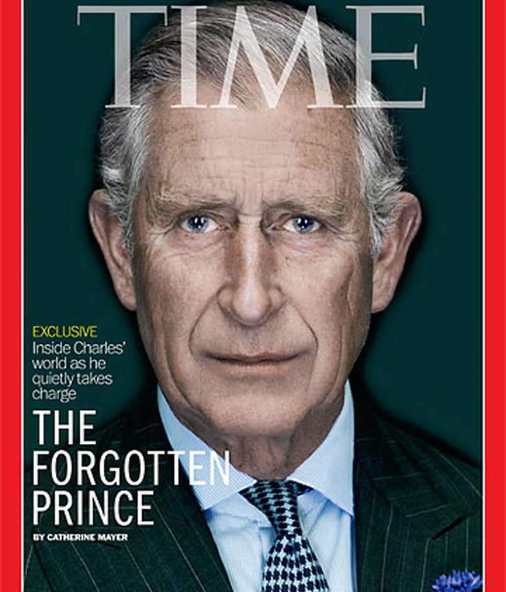 Portada de la revista Time que dedicó un especial al príncipe Carlos de Inglaterra