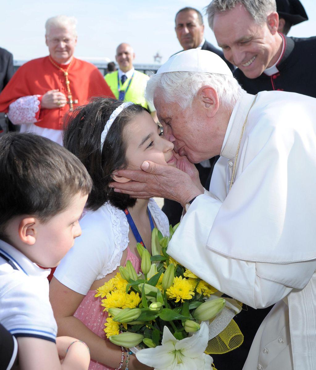 El Papa con los niños