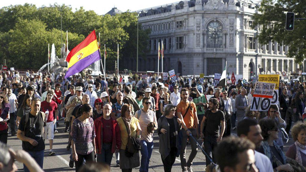 Manifestaciones por Europa
