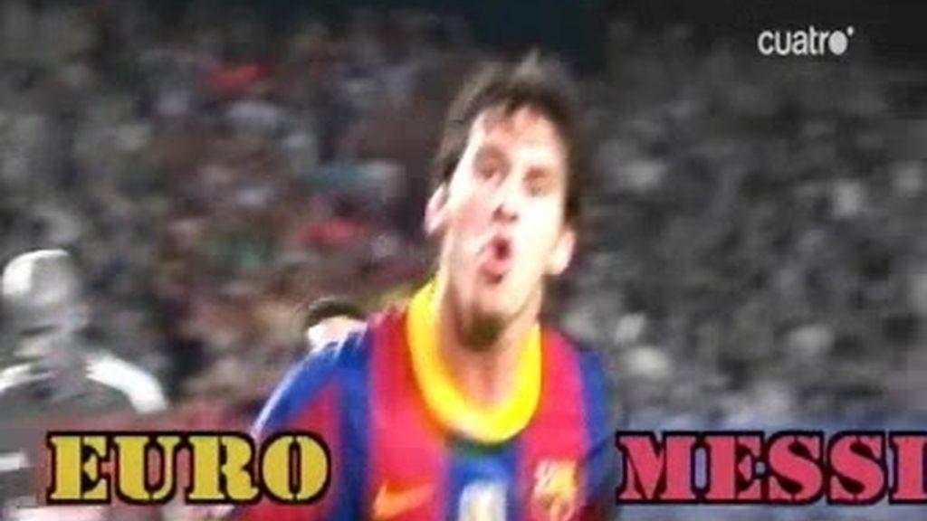 Messi, fuera de serie