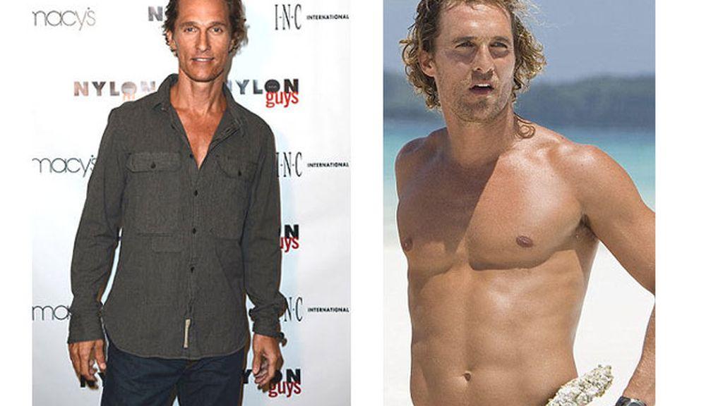 La devastadora transformación de Matthew McConaughey