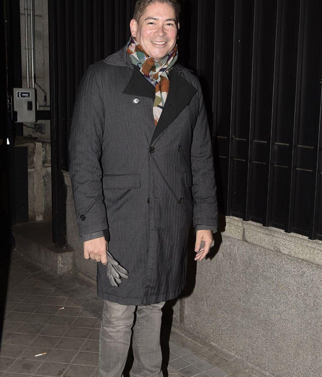 El presentador Boris Izaguirre con un look 'casual'