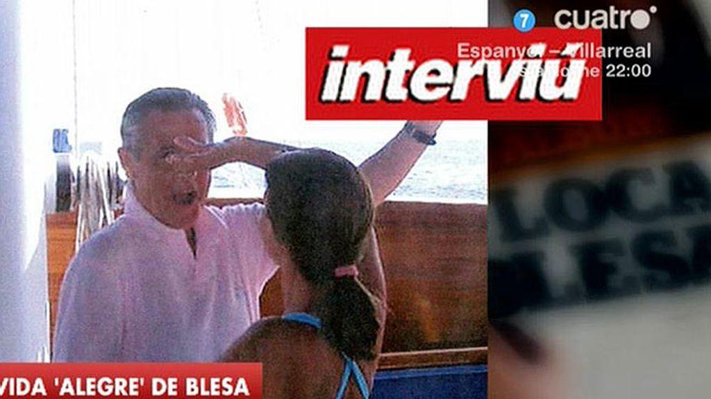 En 'LMDC' analizan las imágenes de Blesa publicadas por 'Interviú'