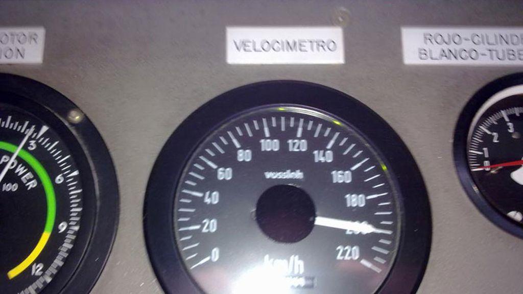 El maquinista presumió en 2012 en Facebook de circular a 200 kilómetros por hora
