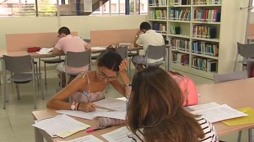 Los estudiantes opinan sobre la adjudicación de becas al estudio