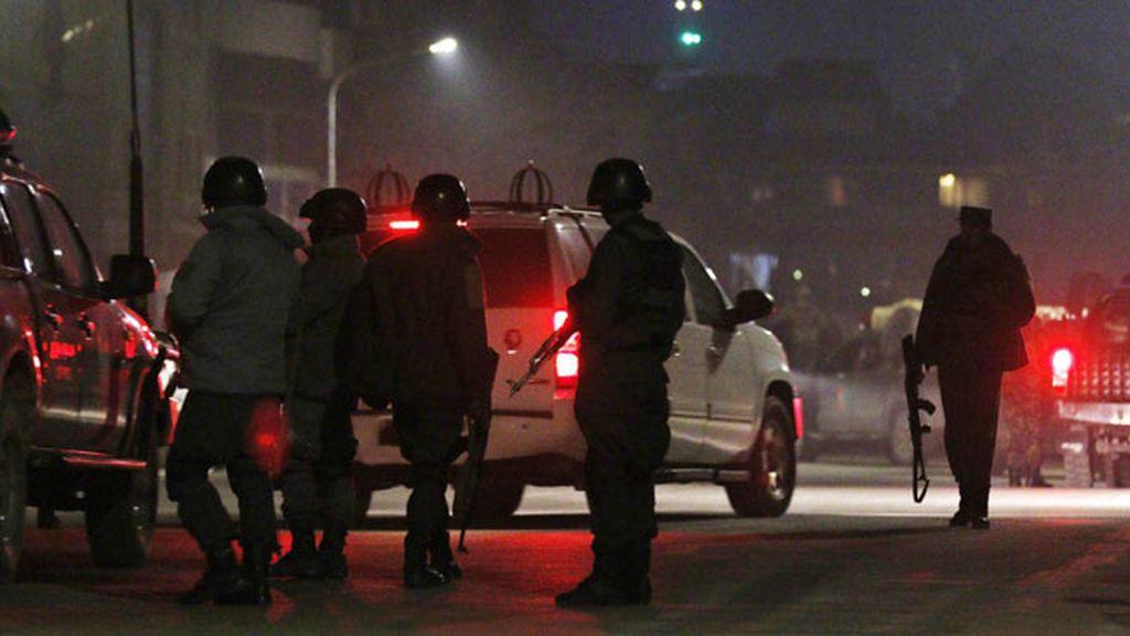 Explosión junto a la Embajada española de Kabul