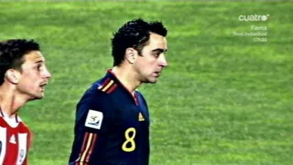 Xavi se convierte en centenario