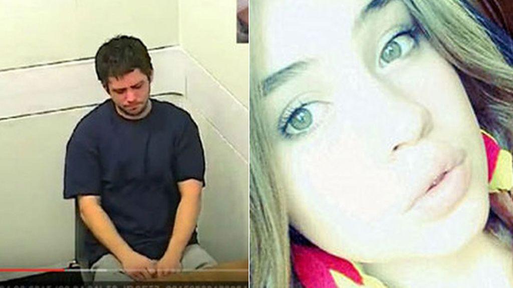 """El asesino de su hermanastra rompe a llorar: """"Solo quería darle una lección"""""""