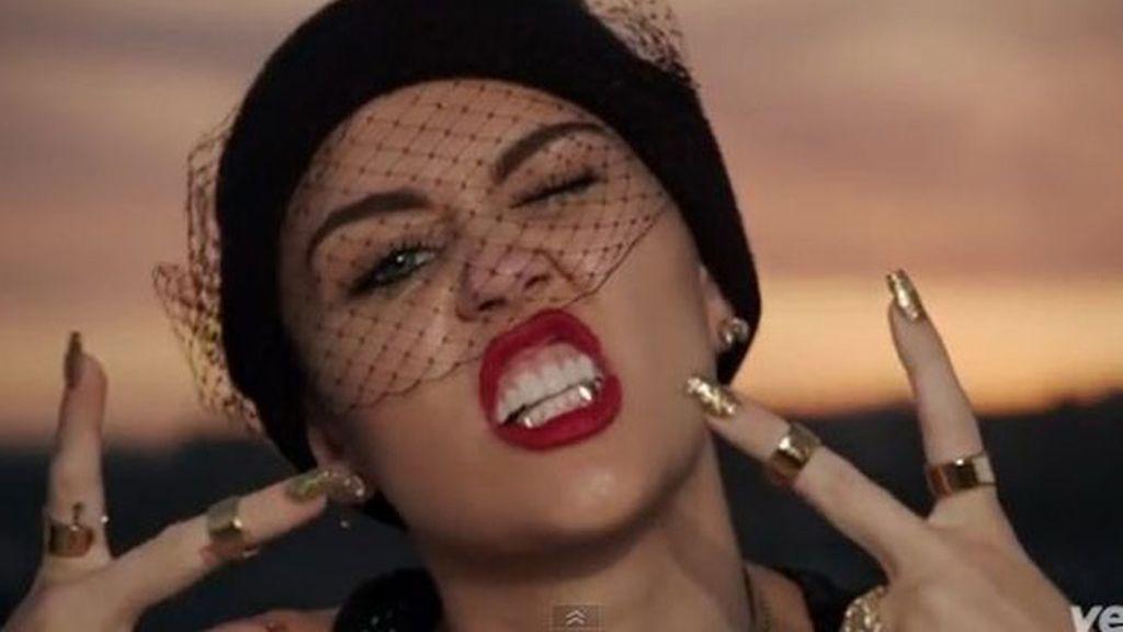 """Miley Cyrus en su vídeo más """"caliente"""""""
