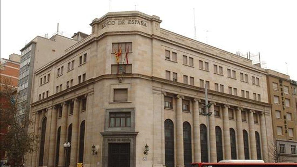 Fachada del edificio del Banco de España. EFE/Archivo