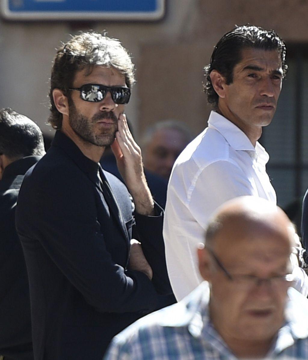 José Tomás, en el funeral de Víctor Barrio