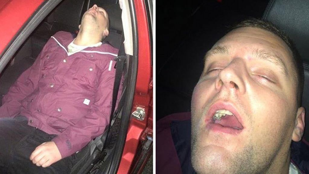 Se quedó tan profundamente dormido...¡que el taxista no podía despertarle!
