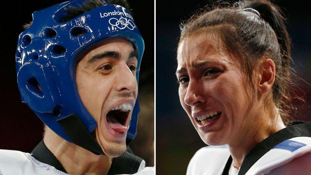 Joel González y Brigitte Yagüe, medallas en taekwondo, Olimpiadas Londres 2021