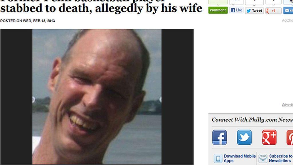 Matthew White, exjugador de baloncesto asesinado por su esposa por ver porno