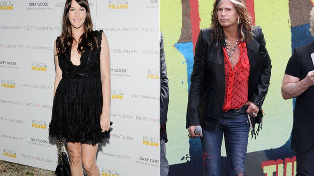 Liv Tyler es hija del cantante Steven Tyler
