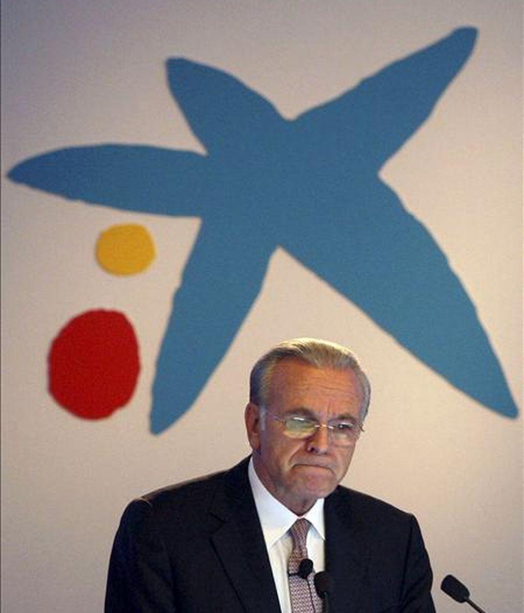 El presidente de la La Caixa, Isidre Fainé. EFE/Archivo