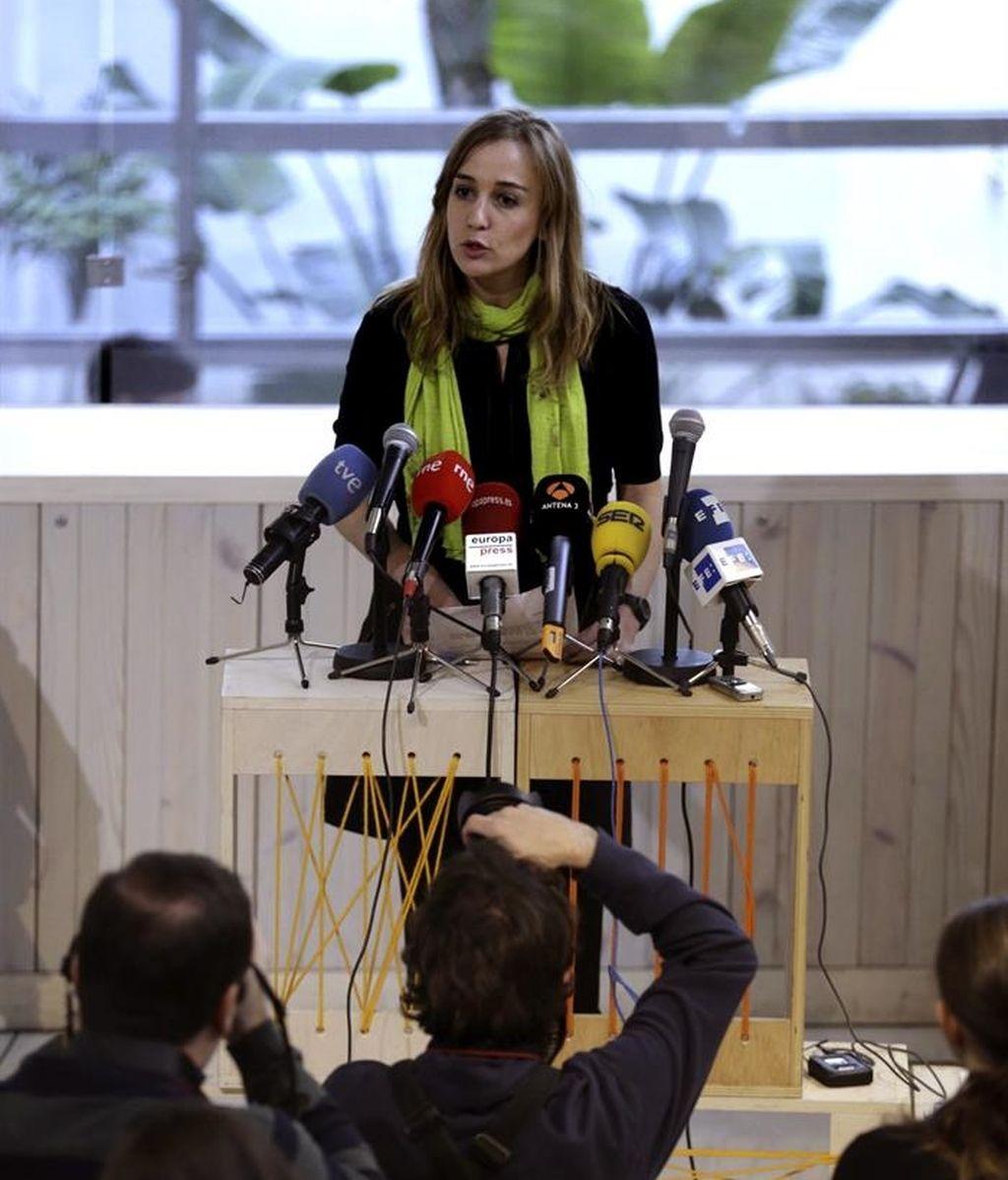 Tania Sánchez presenta su alianza con grupos