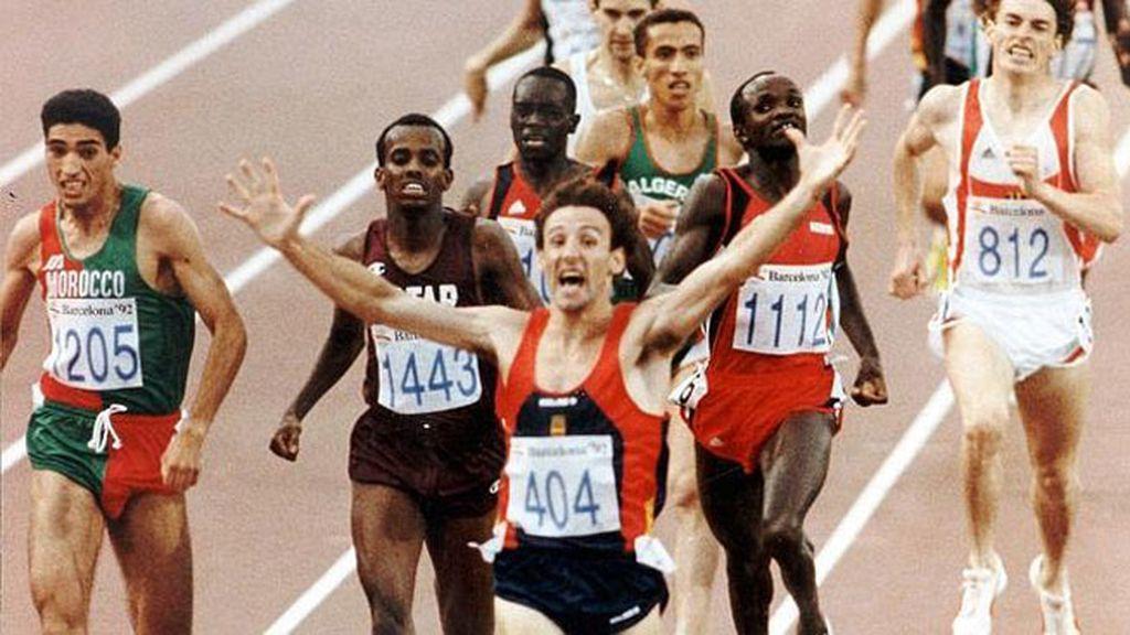 Barcelona 1992: Fermín Cacho - Atletismo (1.500 metros)