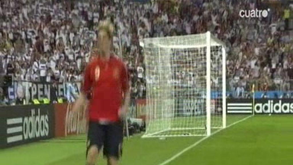 Así recuerda 'La Roja' la eurocopa