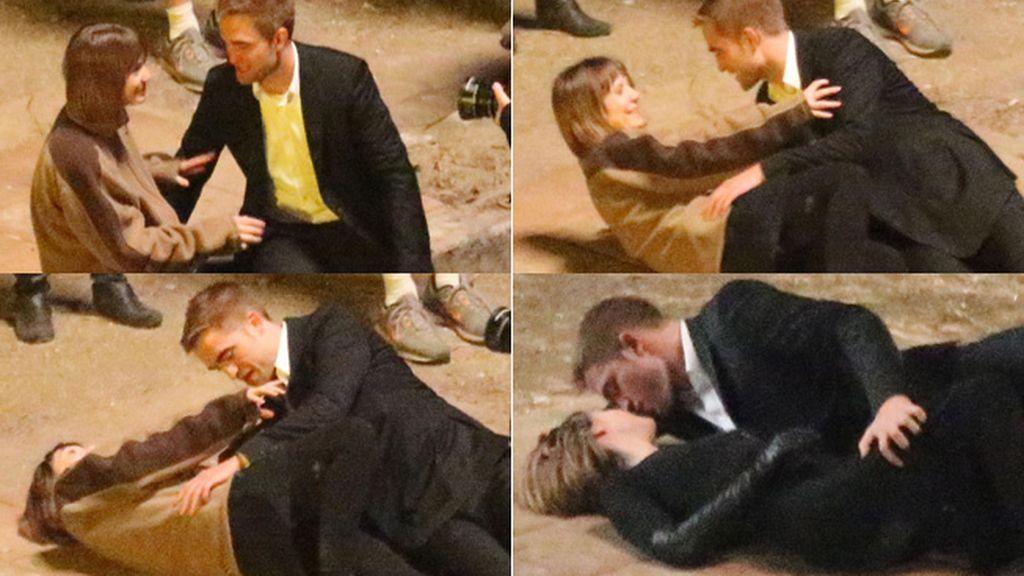 Robert Pattinson, muy pasional junto con Mia Wasikowska